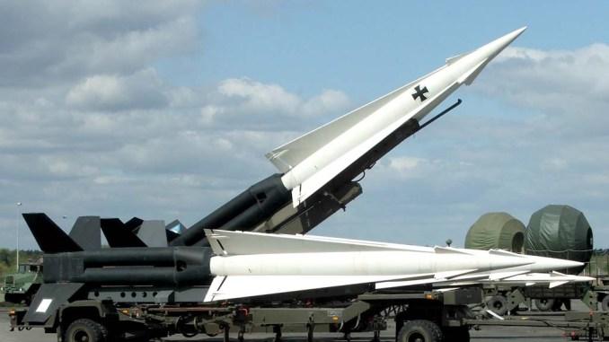 صواريخ ألمانية الصنع