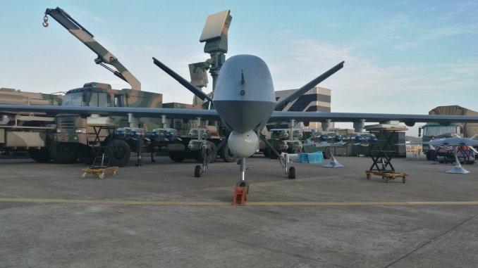طائرة CH-5 غير المأهولة الهجومية الصينية (صورة أرشيفية)