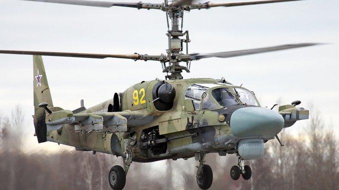التمساح Ka-52 Alligator
