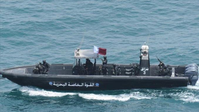 زورق القوات الخاصة البحرية القطرية
