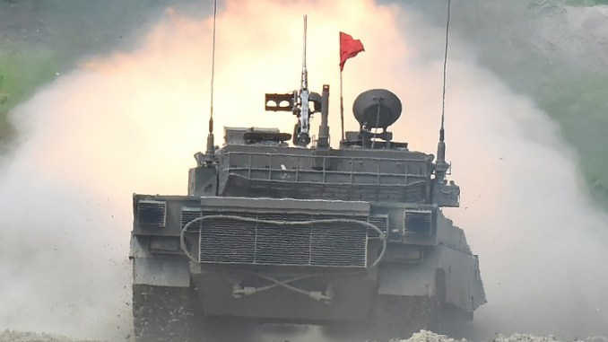 لقطة من التمارين العسكرية الأميركية اليابانية