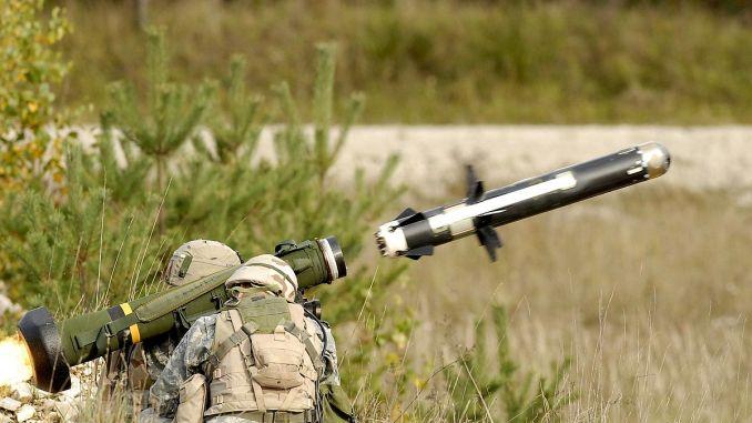 صاروخ جافلين المضاد للدبابات