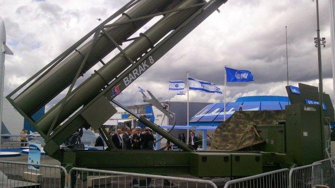 نظام باراك-8 الإسرائيلي