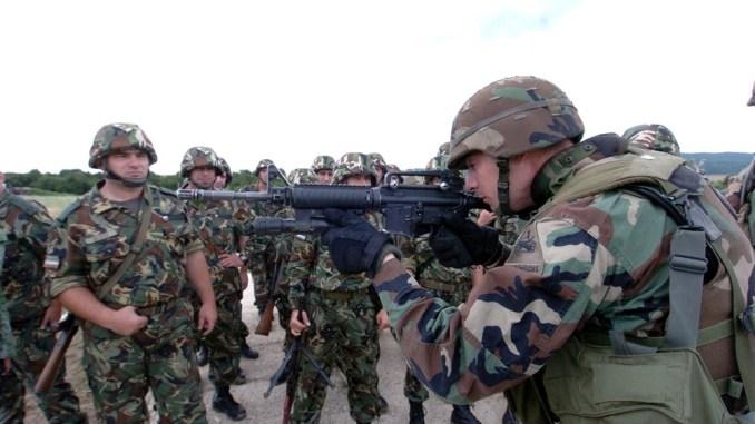 تدريب عسكري أميركي بلغاري