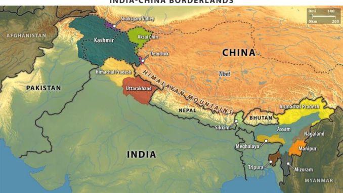 الحدود الصينية الهندية