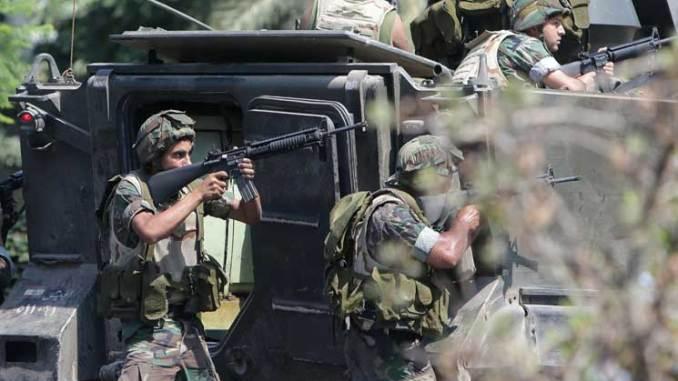 وحدات من الجيش اللبناني