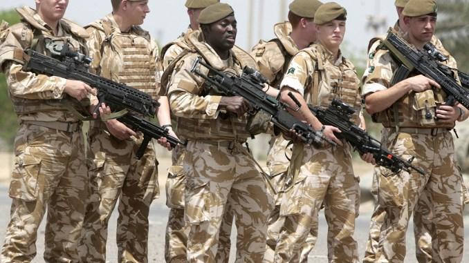 الجنود البريطانيون