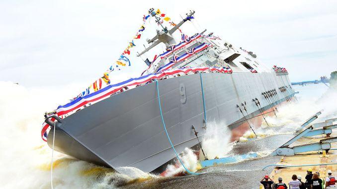 سفينة القتال الساحلي USS Little Rock