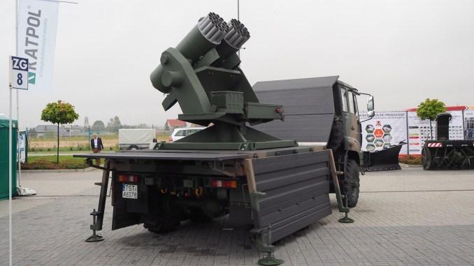 """منصة إطلاق القذائف الصاروخية الجديدة من نوع """"مارغاريتكا"""""""