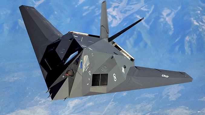 قاذفة F-117A الأميركية
