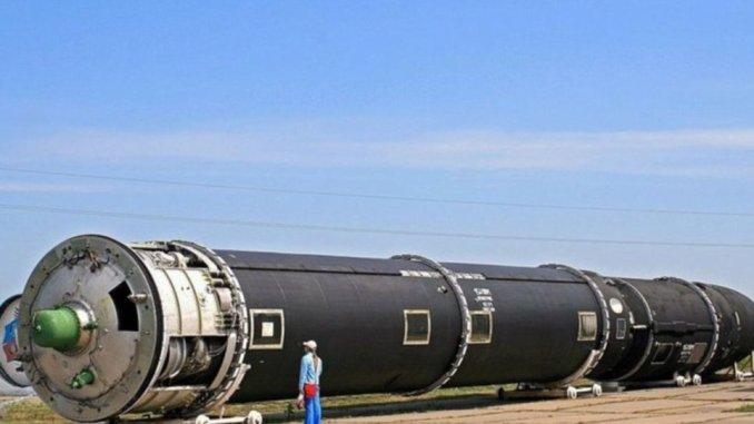 """صاروخ """"سارمات"""" الروسي"""