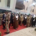 ولي عهد البحرين يزور معرض BIDEC 2017