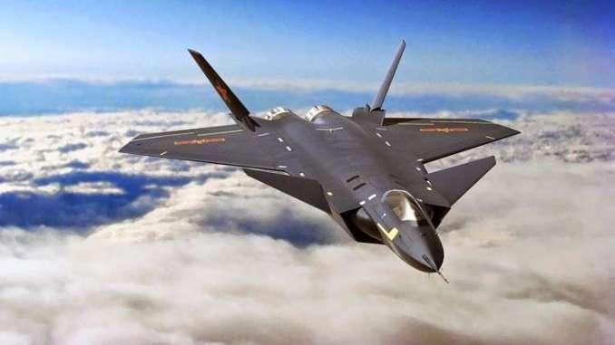 """مقاتلة الجيل الخامس """"J-20 """""""