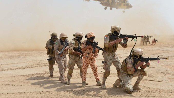 مناورات حسم العقبان الأميركي-الخليجي