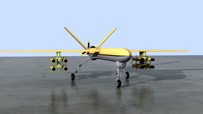 """طائرة """"شاهد 129"""" من دون طيار الإيرانية"""