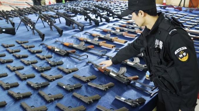 أسلحة صينية