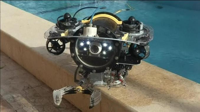 الغواصة المتحكم بها عن بعد من إنتاج المهندسين المصريين