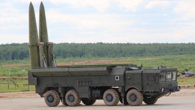 منظومة الصواريخ التكتيكية البالستية Iskander