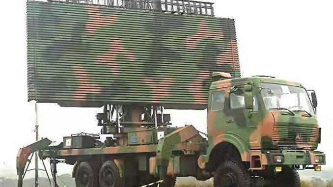 رادار عسكري صيني من طراز JYL-1