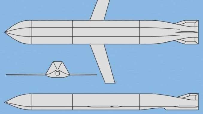 نموذج تصويري عن صاروخ X-50 الروسي (بيوتر بوتوفسكي/Jane's Missiles & Rockets)