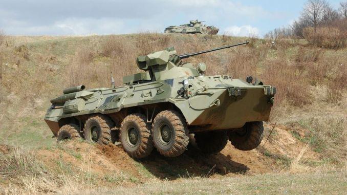 عربة BTR82A الروسية