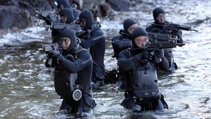 تدريبات عسكرية في كوريا الجنوبية
