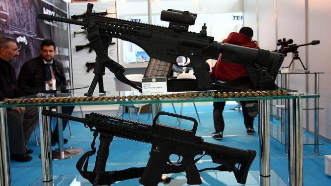 """بندقية """"MPT-76"""" التركية"""