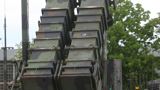 صاروخ الباتريوت للدفاع الجوي