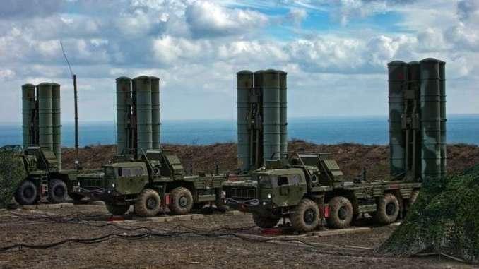 منظومة إس-400 الروسية للدفاع الجوي