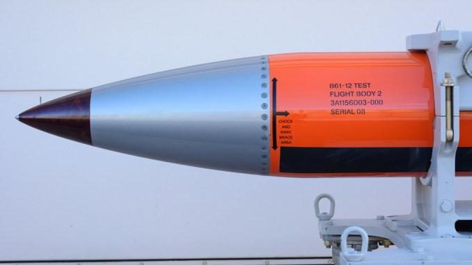 قنبلة B61-12 الأميركية
