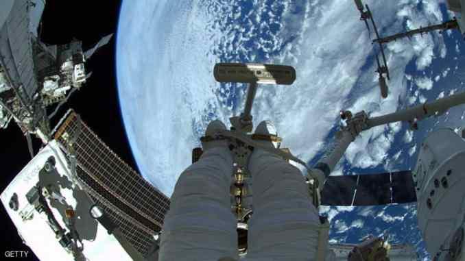 صورة للأرض من محطة الفضاء الدولية (أرشيف)