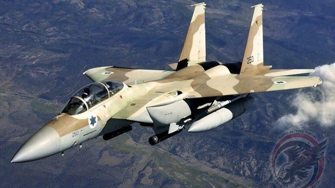 مقاتلة أف-15 اسرائيلية