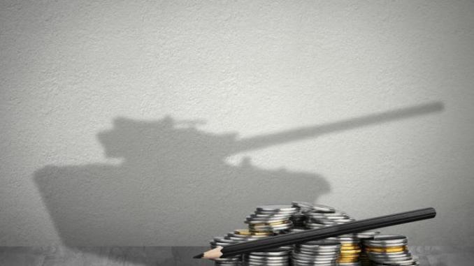 صورة تمثّل الإنفاق العسكري