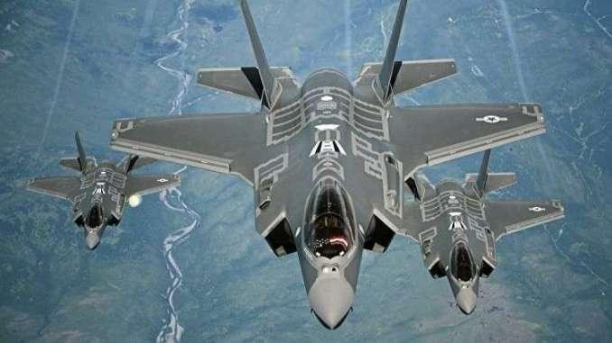 مقاتلات إف-35 الأميركية (صورة أرشيفية)