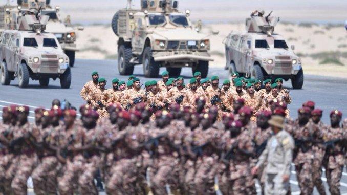مناورات درع الخليج المشترك 1 في السعودية