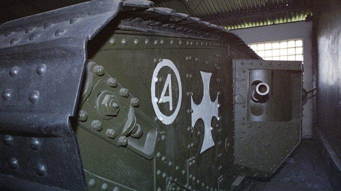 دبابة استخدمت في الحرب العالمية الأولى