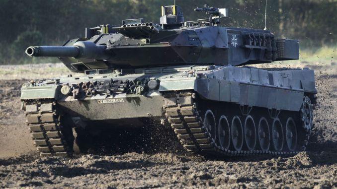 دبابة ليوبارد 2 (صورة أرشيفية)