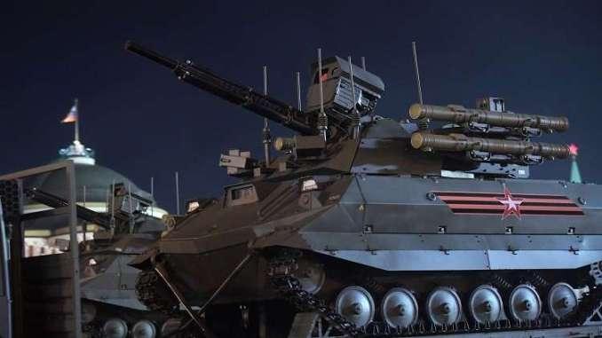 نظام أوران-9 غير المأهول القتالي الروسي