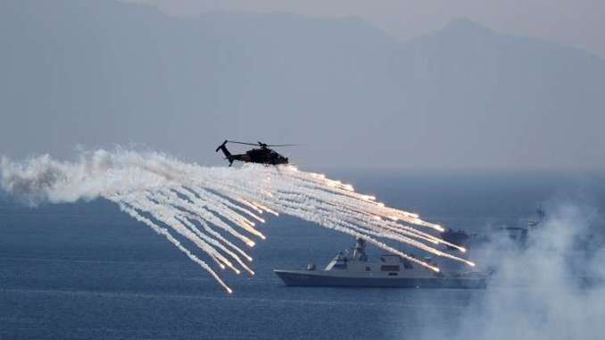 فعاليات ختام التمرين العسكري في إزمير التركية في أيار/ مايو 2018