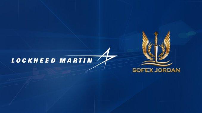 شعار شركة لوكهيد مارتن ومعرض سوفكس 2018