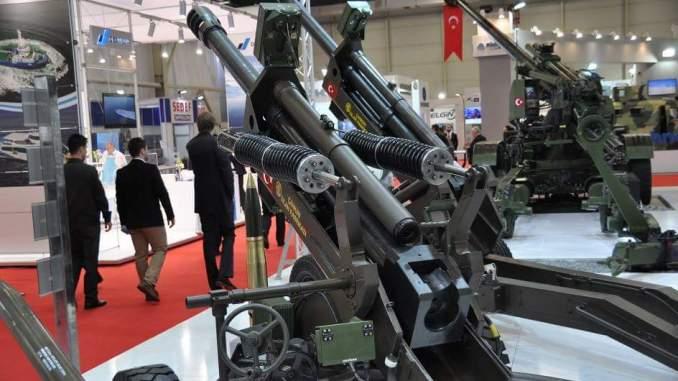 """مدفعية """"بوران"""" تركية الصنع"""