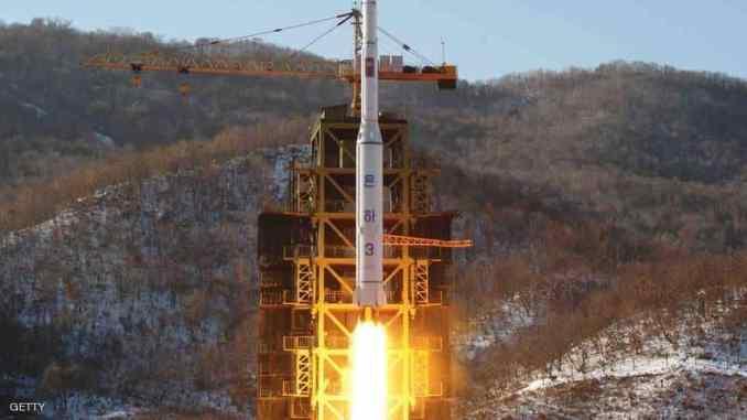 تجربة إطلاق صاروخ نووي كوري شمالي (صورة أرشيفية)