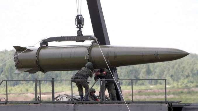 صاروخ اسكندر الروسي