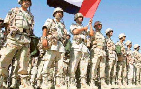 عناصر من القوات المسلّحة الإماراتية