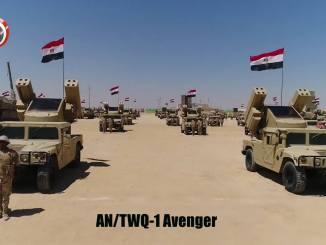 أنظمة أفينجر العاملة لدى قوات الدفاع الجوي المصري (بوابة الدفاع المصرية)