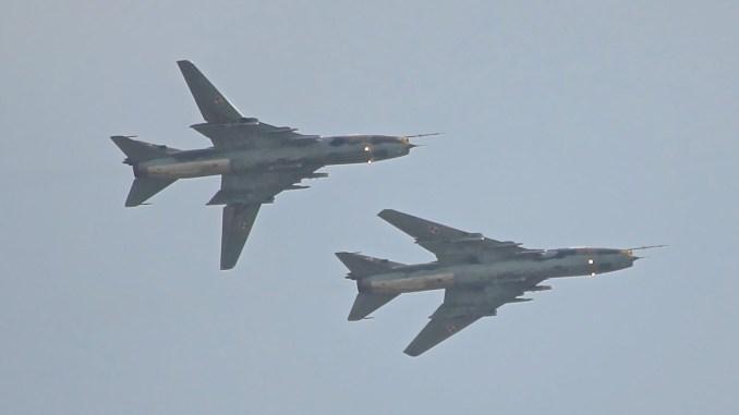 """قاذفات من طراز """"سو- 22"""""""