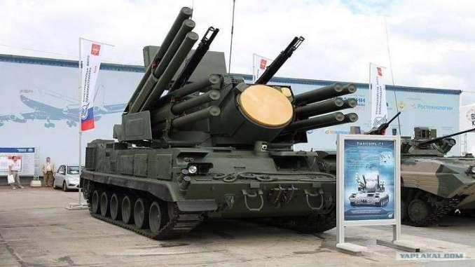 """نظام مدفعية """"ديريفاتسيا"""" ذاتي الحركة للدفاع الجوي (موقع روسيا اليوم – صورة أرشيفية)"""