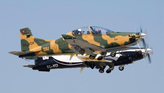 طائرة هوركوس للتدريب التركية