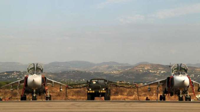 قوات روسية في قاعدة حميميم
