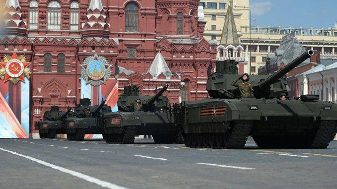 دبابات أرماتا تي-14 الروسية